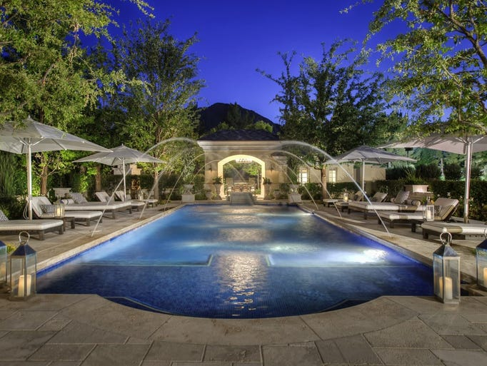 This Paradise Valley mansion  sold in January 2017