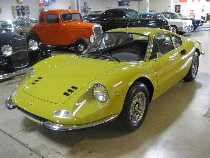 Car collector Larry Smith is bringing three of his