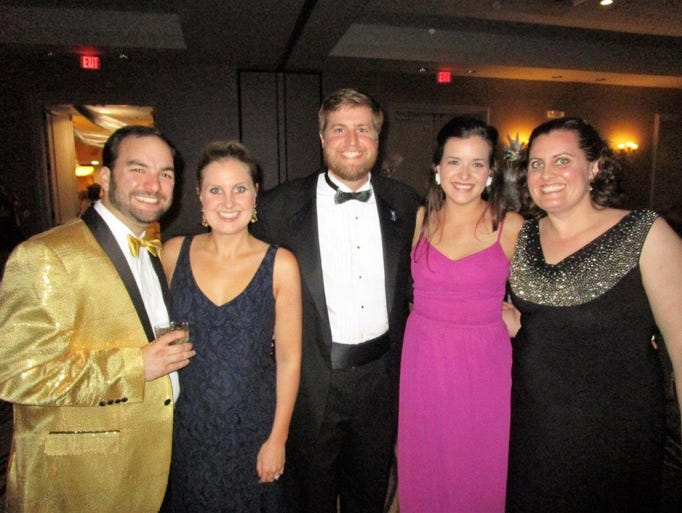 Marc and Erin Alleman, Christian Leach, Mary Katherine