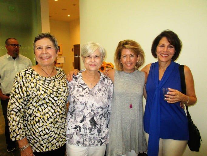 Kay Hesterly, Kakie Lalonde, Karen Gambel and Margaret