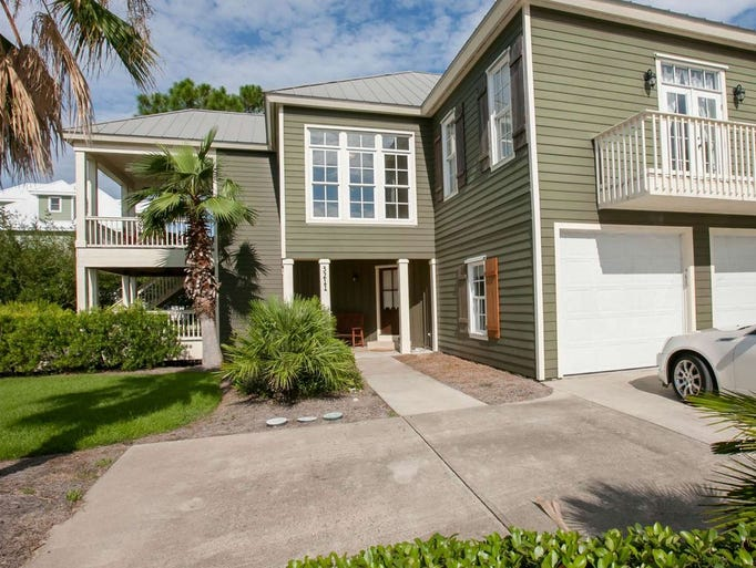 Orange Beach, Ala.: This four-bedroom house sleeps