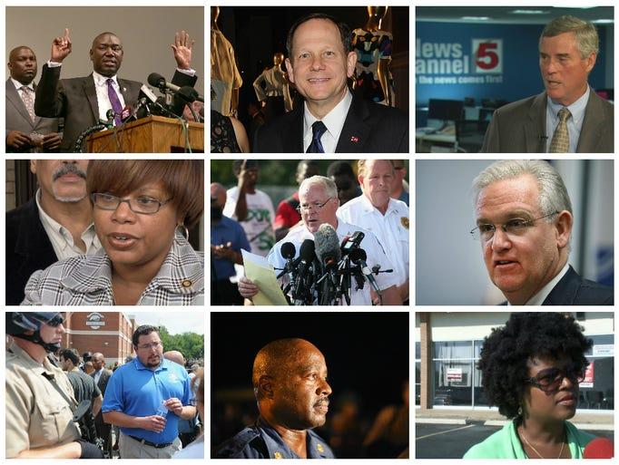 A who's who of Ferguson.