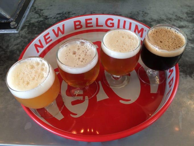 New Belgium Asheville Food Menu