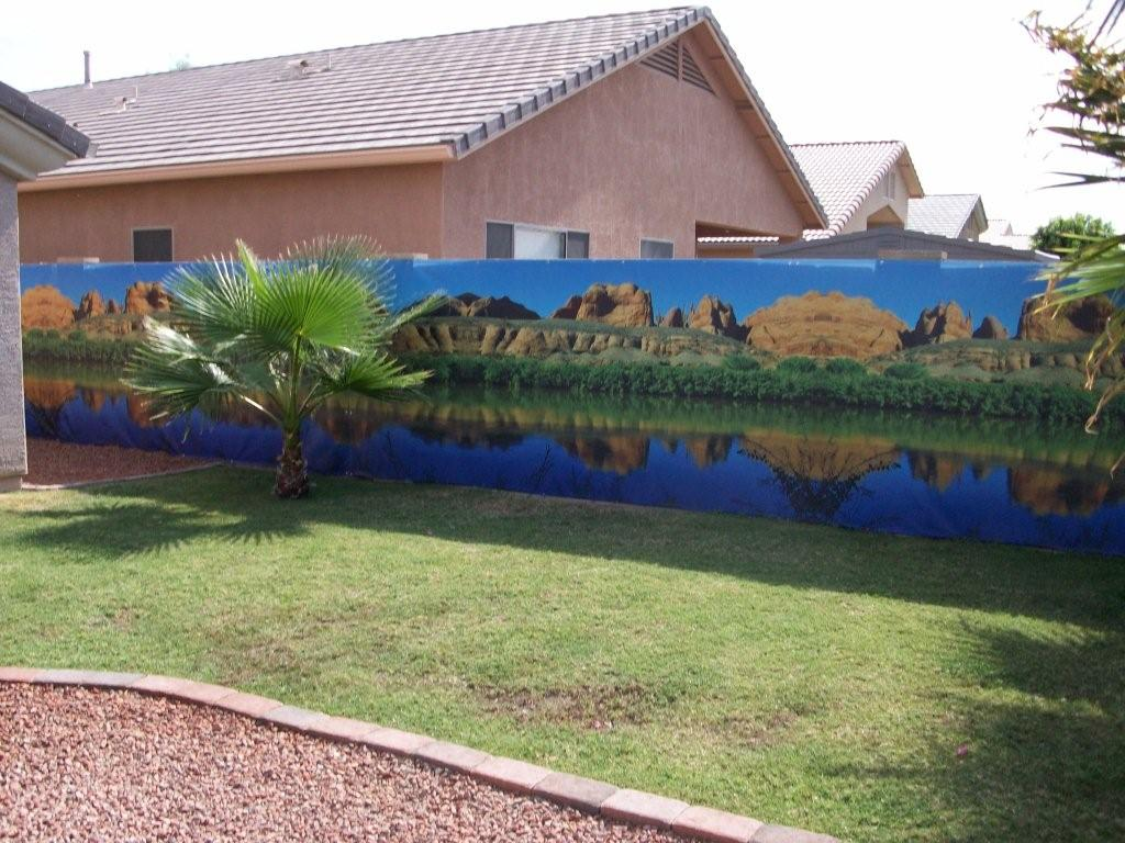 Wall Sensations Murals Want To Beautify Your Phoenix Backyard Block Walls