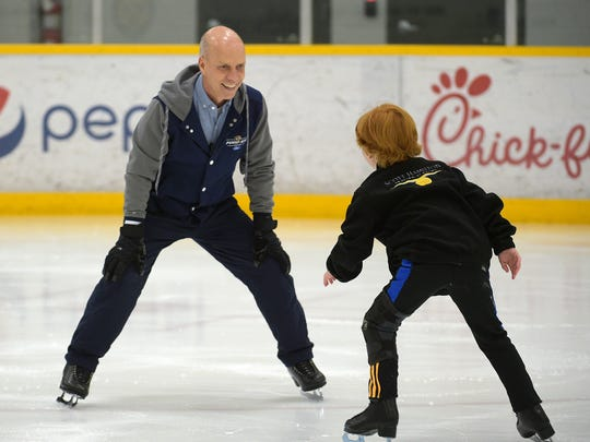 Scott Hamilton wants to make Nashville the epicenter for figure skating in the United States.