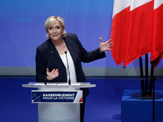 AP FRANCE FAR RIGHT NEW IDENTITY I FRA