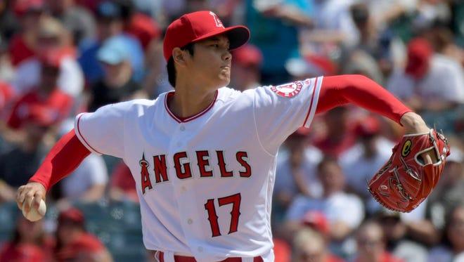 April 8: Shohei Ohtani, 11 vs. Athletics