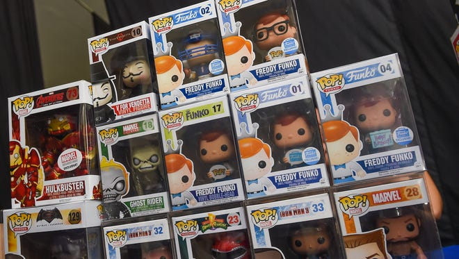 Funko POP! vinyl figures ranging from $200 and up were displayed by Guam Geeks R Us during Epixcon 2016 at Agana Shopping Center in Hagatna on July 23.