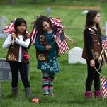 Memorial Day Ceremony on May 25 at the Northern Nevada Veterans Memorial Cemetery in Fernley.