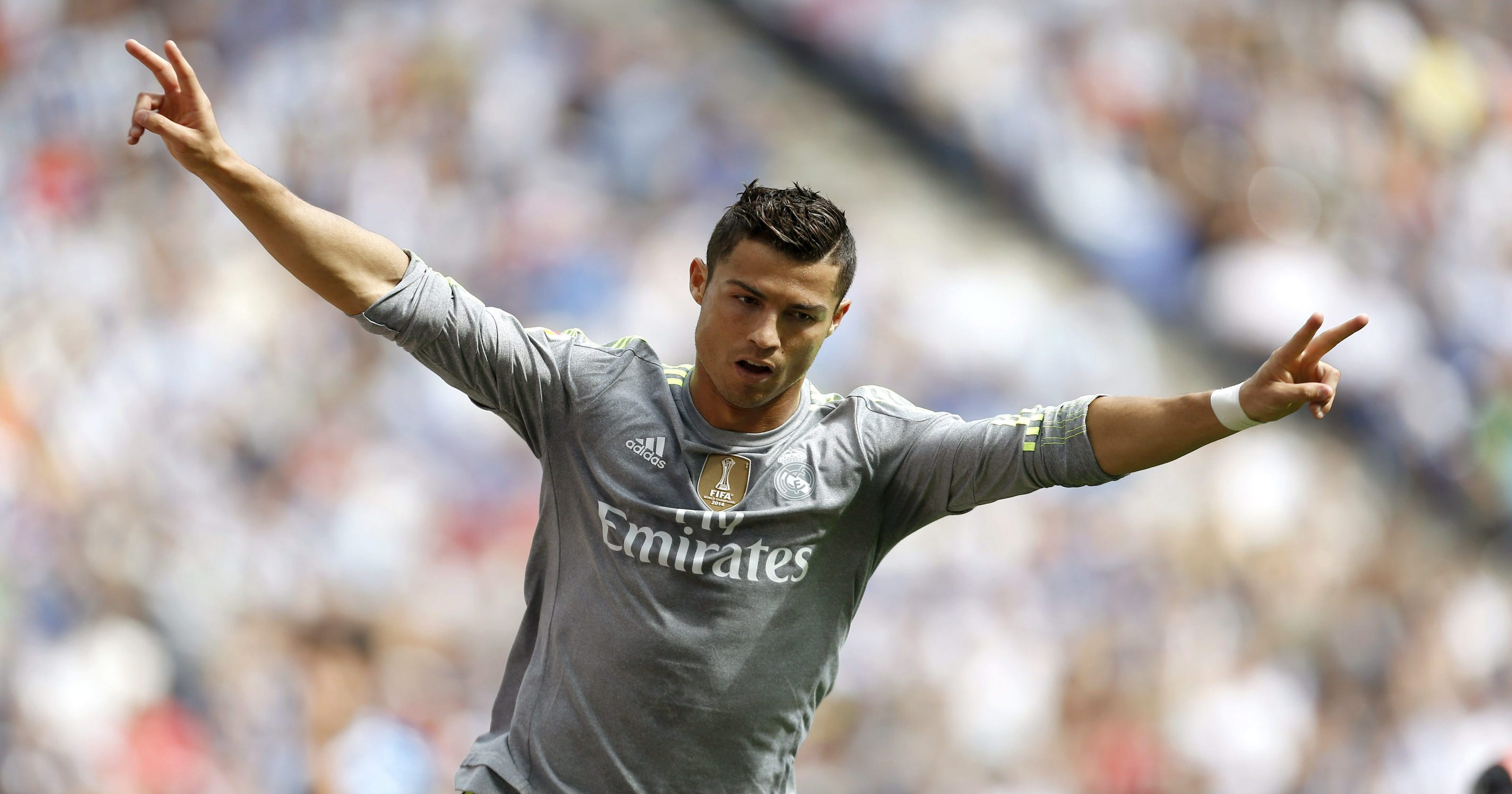 8a46c96b4 Cristiano Ronaldo scores five goals at Espanyol for Real Madrid record