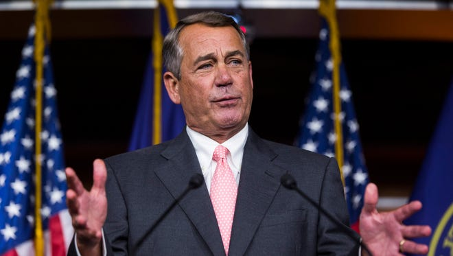 Republican Speaker of the House from Ohio John Boehner announces Friday that he is retiring from Congress