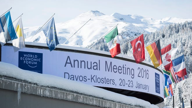 An exterior view of the conference center, in Davos, Switzerland, on Jan. 18, 2016. The World Economic Forum will take place in this location Jan. 20-23.