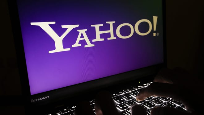 This Sept. 23, 2016 file photo shows the Yahoo logo pictured on a computer monitor in Taipei, Taiwan. Verizon on Tuesday, June 13, closed its $4.48 billion acquisition of Yahoo.