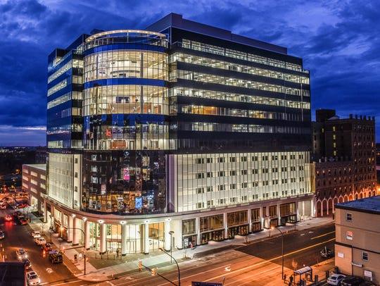 Delaware North headquarters building in Buffalo, NY.