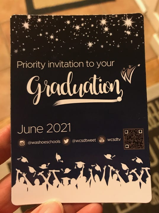 WCSD invites class of 2021 to graduation with savethedate magnet – Save the Date Graduation Invitations