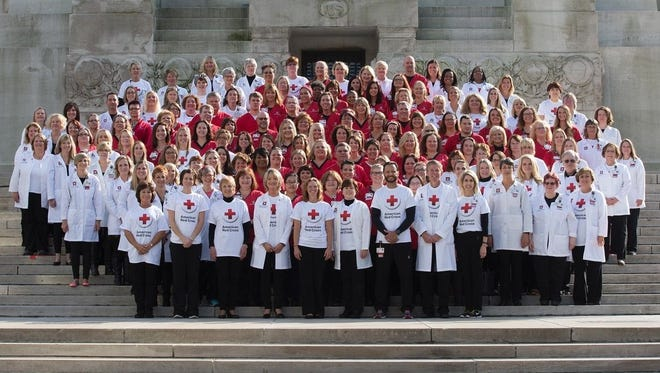 The growing team of nurses at Indiana University Health.