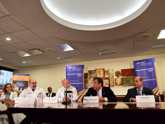 Discussion of Addiction and Overdose with Gov. Christie