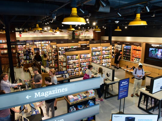 Amazon Books opens a store in the Westfield Garden