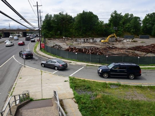 The Forum Diner, a Paramus landmark, was demolished last Wednesday to make way for a skydiving dome at Route 4 and Forest Avenue.