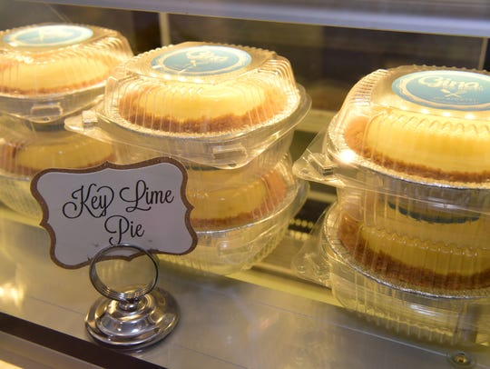 Key Lime Pies by Gina Constanza, owner of Gina the