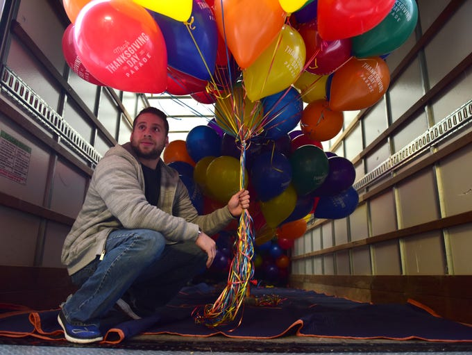 John Orlic, of Life O' The Party in Hackensack, helps