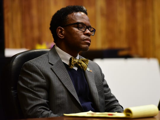 Darien Allen, former chairman of the Housing Authority of the city of Passaic,  is being tried on charges of selling cocaine, before Superior Court Judge Sohail Mohammed.