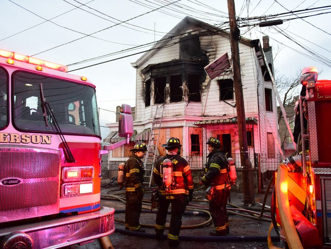 A Paterson firefighters respond to a 2nd Alarm fire