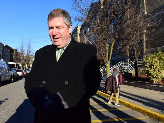George Solter, North Bergen Superintendent of Schools,