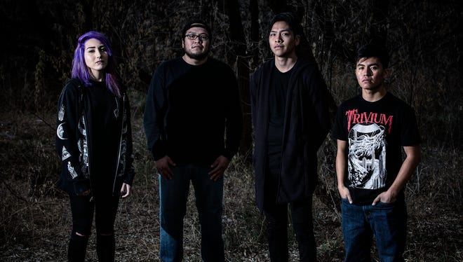 """Under Exile celebrates the release of its new CD """"Make Your Peace With It"""" with a performance this weekend at the Top Deck in Farmington."""