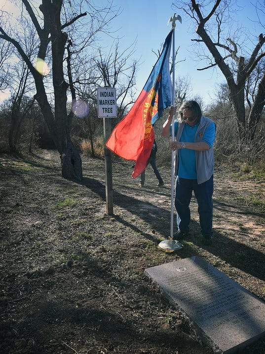 Indian Marker Tree Dedicated 1