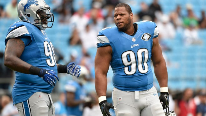 The Lions stand  to lose DTs Nick Fairley (98) and Ndamukong Suh in free agency.