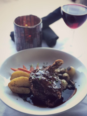 Near Surprise Stadium: At Vogue Bistro in Surprise, try French cuisine such as coq au vin.