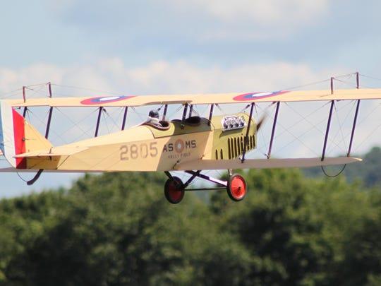 A giant-scale model plane at the Binghamton Aeros Fun-Fly