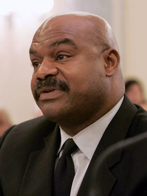 Former Chicago Bears safety Dave Duerson, shown in 2007 testifying on Capitol Hill, committed suicide in 2011. He is the first NFL player to be diagnosed with CTE.