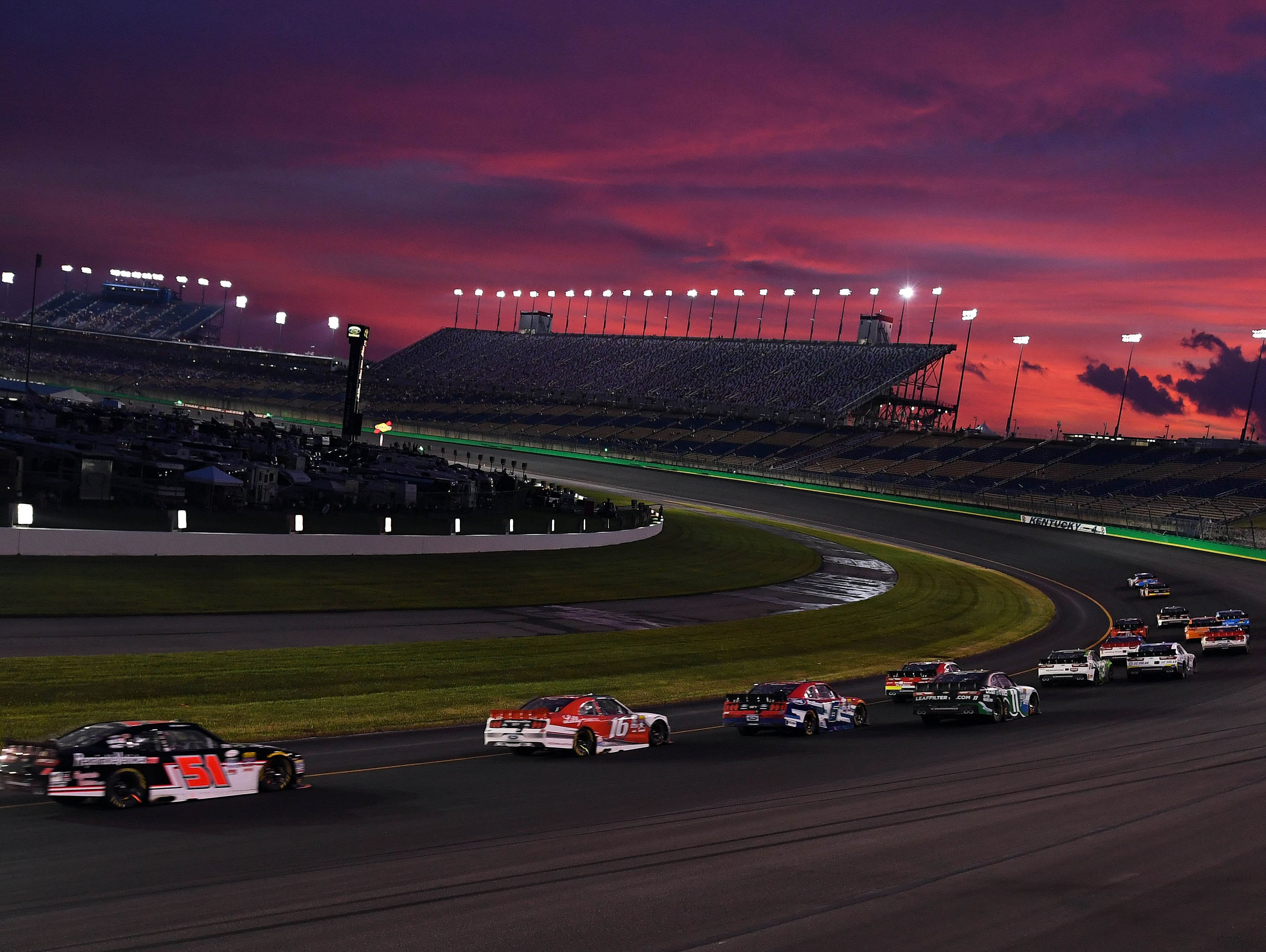 Spend an evening at the Kentucky Speedway and catch the thrill of stock car racing. Enter 6/13-6/25.