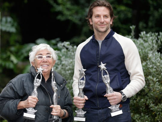Italian director Lina Wertmuller presented Bradley