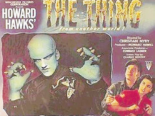 "James Arness is was the plant monster in  ""The Thing"