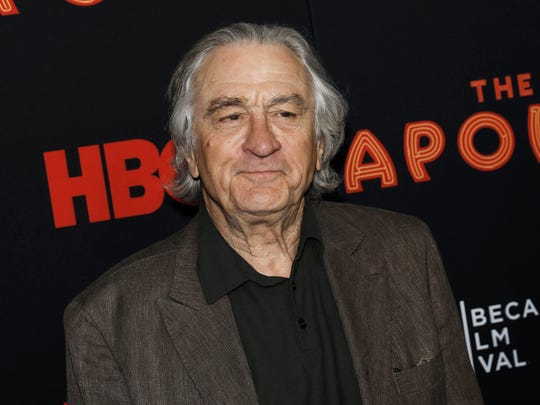 Robert De Niro continued his streak of using award show speeches to slam President Donald Trump.