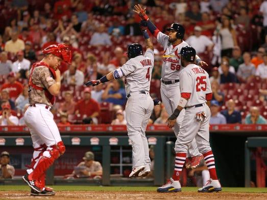 Sept. 19: St. Louis Cardinals catcher Yadier Molina