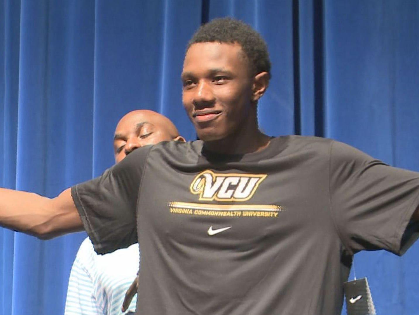 In November, Dreher's Tevin Mack announced he would be attending VCU.
