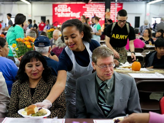 The 20th annual H-E-B Feast of Sharing Sunday, Nov. 6