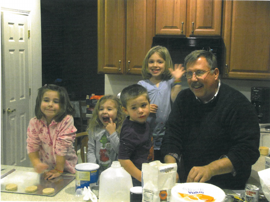David Kriehn is pictured in this undated photo with four grandchildren. Kriehn, 66, was killed Feb. 13, 2017, by a drunken driver who had been living in the U.S. illegally.
