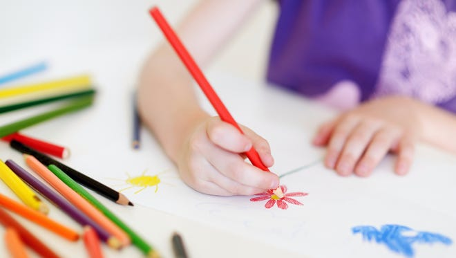 Fine motor skills such as pencil grasp are among the skills children should have developed to be ready for preschool.