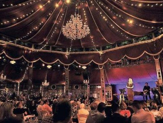 The Spiegeltent is a critical component of Bard SummerScape.