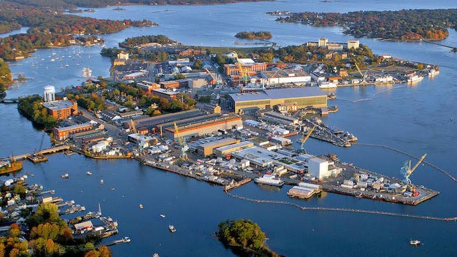 Portsmouth Naval Shipyard in Kittery, Maine.