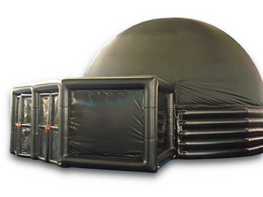 This portable planetarium, named after a Paterson educator,
