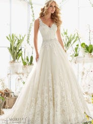 Wedding Dress Intricate Lace