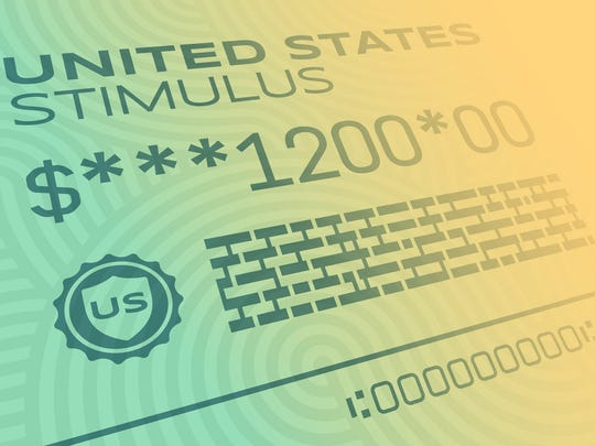 Stimulus check for $1,200.