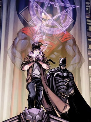 "John Constantine becomes an ally in Batman's fight against Superman in ""Injustice: Gods Among Us Year Three."""