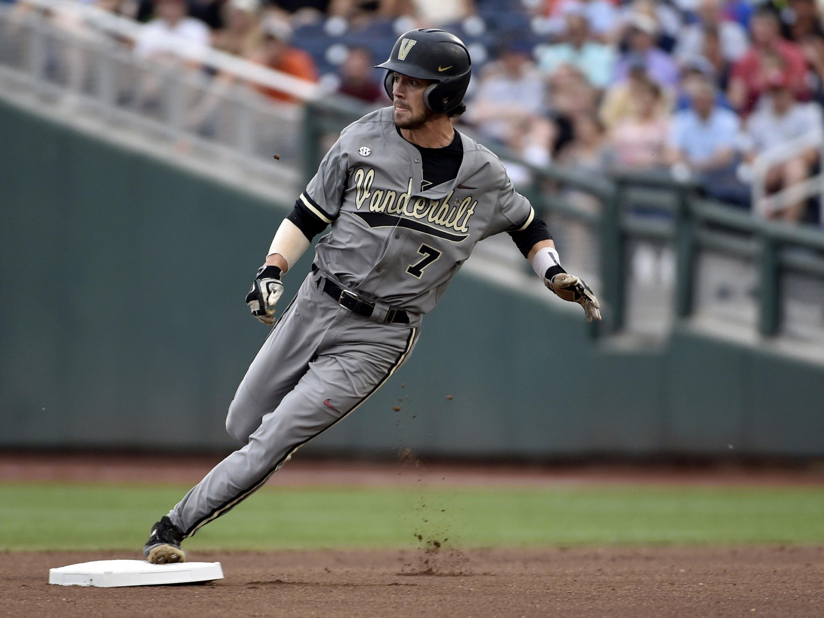 Former Vanderbilt and Blackman High player Zander Wiel will be sidelined for a month with a hand injury.